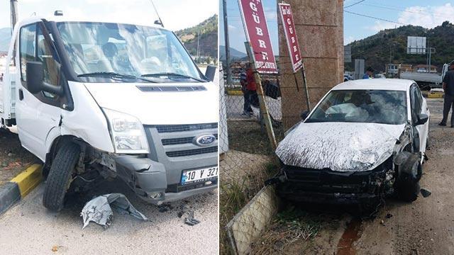 Karabük'te trafik kazasında 1'i bebek 5 kişi yaralandı