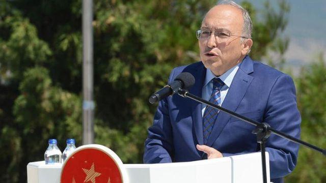 Kültür Bakan Yardımcısı Haluk Dursun'un son konuşması