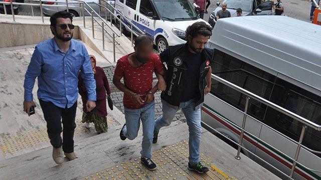 Zonguldak'taki uyuşturucu operasyonunda 3 zanlıdan 1'i tutuklandı