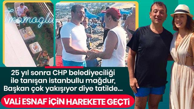 İstanbul Valisi'nden selden etkilenen esnafa müjde!