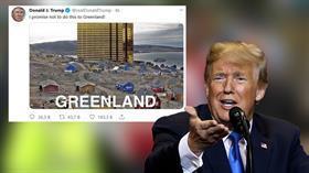 Trump'tan kafa karıştıran Grönland paylaşımı: Söz veriyorum bunu yapmayacağım
