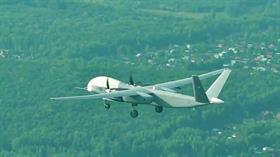 Rusya'nın 6 tonluk Altius-U yeni İHA'sı ilk uçuşunu yaptı