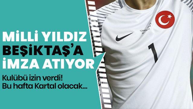 Başakşehir'den Beşiktaş'a Volkan izni çıktı