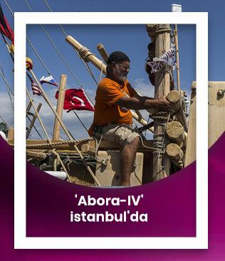 Antik dönemin izlerini taşıyan 'Abora-IV' İstanbul'da