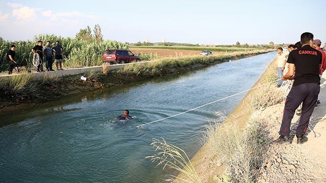 Adana'da sulama kanalına giren genç kaldırıldığı hastanede yaşamını yitirdi