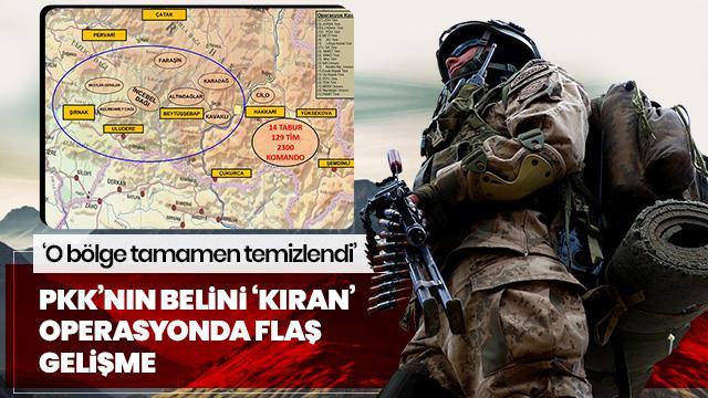 Jandarma Genel Komutanı açıkladı: O bölge teröristlerden tamamen temizlendi