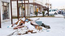 Nusaybin'de bir aydır çöpler toplanmıyor