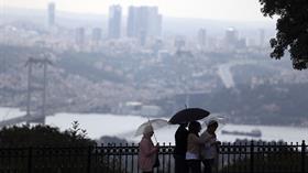 Meteoroloji uyarmıştı, İstanbul'da yağış başladı!