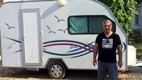 Hayalini gerçekleştirmek için satın aldığı karavan ikinci el çıktı