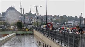 Eminönü'nde su baskınlarına karşı iki terfi hattı