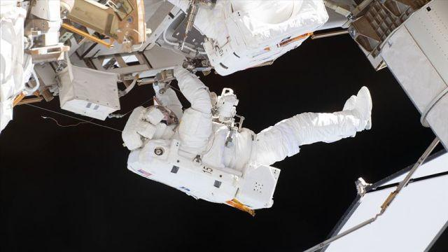 Uluslararası Uzay İstasyonu'na yeni kenetlenme kapısı yerleştirildi