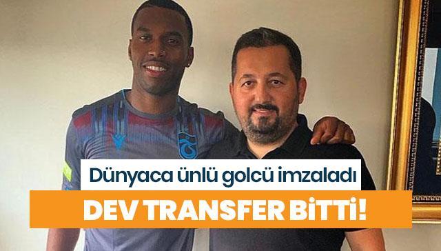 Sturridge 3 yıl Trabzonspor'da