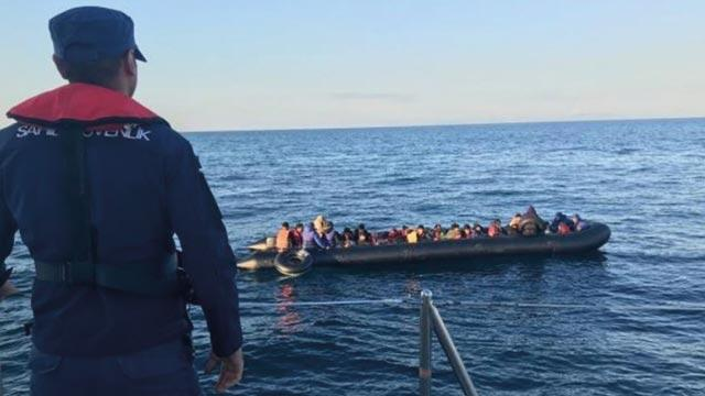 Edirne'de Irak, Afganistan ve İran uyruklu 335 düzensiz göçmen yakalandı