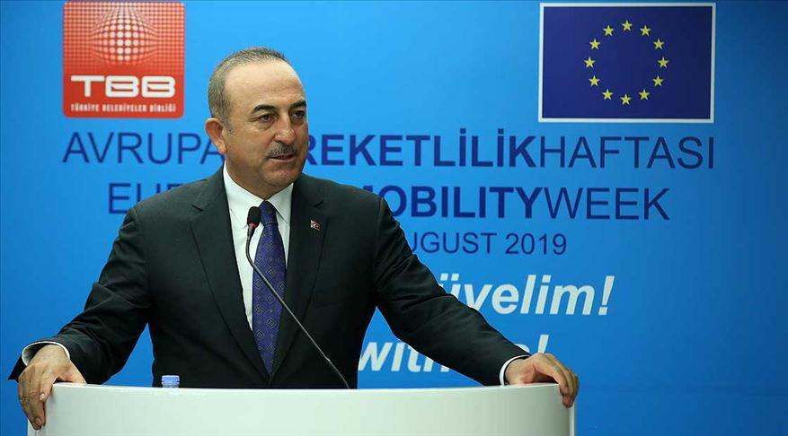 Dışişleri Bakanı Çavuşoğlu: Birlikte yürüyelim, zorluklar varsa da birlikte aşalım