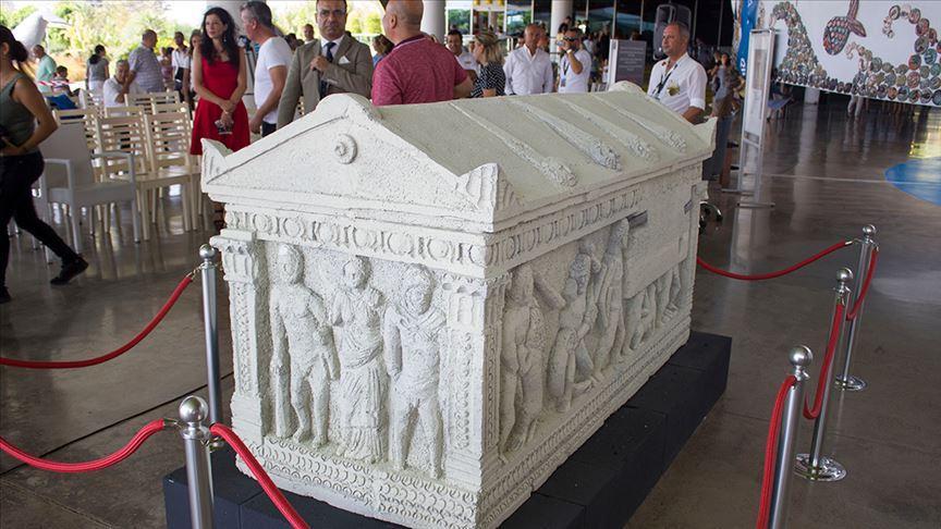 Herakles Lahdi'nin replikası Akvaryum'da sergileniyor