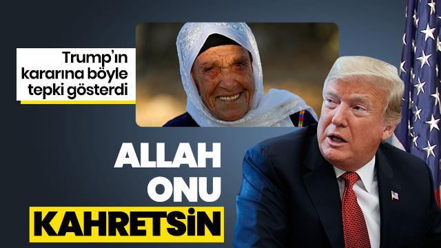 'Allah onu kahretsin'