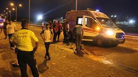 Siirt'te tarım aracının devrilmesi sonucu 1'i ağır 12 kişi yaralandı