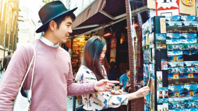 Turistler Türkiye'de alışverişi çok sevdi