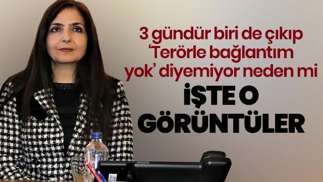 HDP'li Bedia Özgökçe Ertan'ın skandal görüntüleri ortaya çıktı