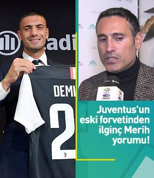 Juventus'un eski forveti Amoruso: Montero-Merih eşleşmesi biraz abartılı olur