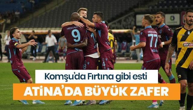 Trabzonspor büyük avantaj sağladı