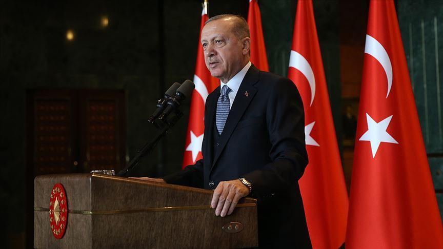 Başkan Erdoğan 3. Cumhurbaşkanı Celal Bayar'ı andı