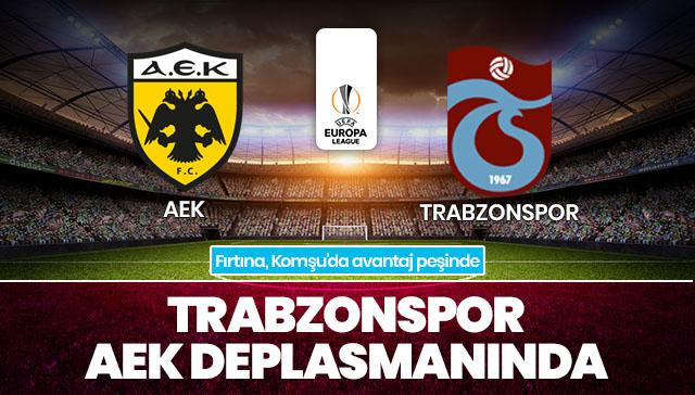 AEK-Trabzonspor CANLI