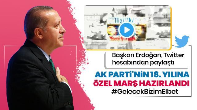 AK Parti'nin 18. kuruluş yıl dönümü marşı büyük beğeni topladı