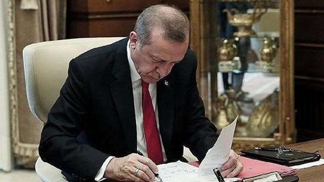 Başkan Erdoğan'ın atama kararları Resmi Gazete'de
