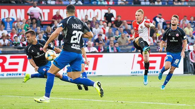 UEFA play-off turu ilk maçları oynandı