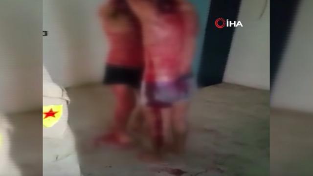 PKK'nın terör örgütüne katılmayanlara yaptığı işkence görüntülendi