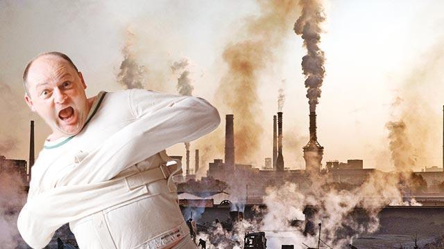 Hava kirliliği delirtiyor