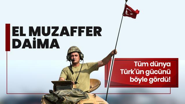 Tüm dünya Türk'ün gücünü böyle gördü
