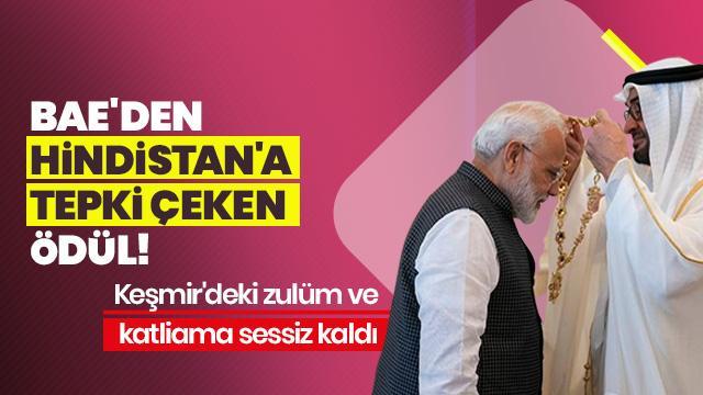 Keşmir kan ağlıyor, BAE ise Hindistan Başbakanı Modi'yi ödüllendirdi