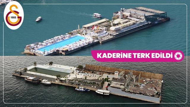 Haciz gelmişti! Galatasaray Adası kaderine terk edildi