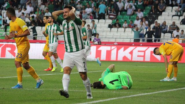 Konyaspor'un Galatasaray'a karşı 25 maçlık hasreti