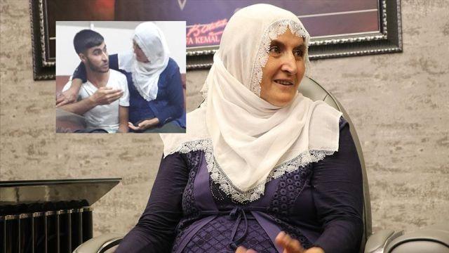 Hacire anne azmiyle oğlunu terörün pençesinden kurtardı