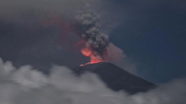 Japonya'da Asama Yanardağı'nda patlama meydana geldi