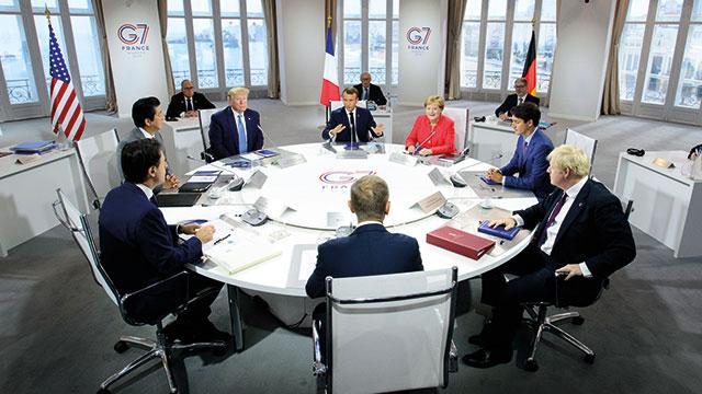 Trump: G7 ülkeleri adına İran'a iletilecek bir bildiriyi tartışmadık