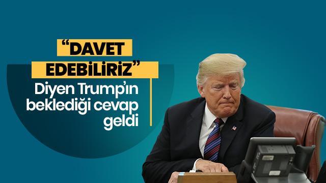 Rusya'dan Trump'a cevap!