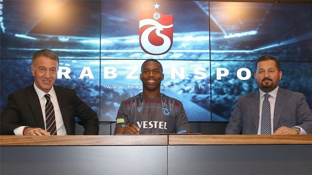 Trabzonspor, Daniel Sturridge için imza töreni düzenledi