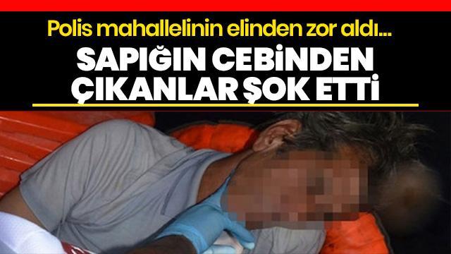 Adana'da çocukları taciz eden şahsı, mahalleli linç etmek istedi