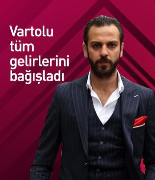 Çukur dizisinin 'Vartolu'su Erkan Kolçak Köstendil, tüm gelirini Bursaspor'a bağışladı