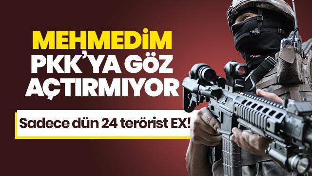 Bakanlık duyurdu: 24 terörist öldürüldü