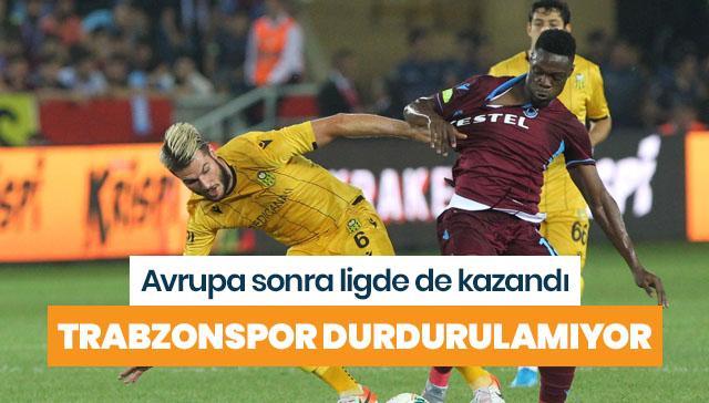 Trabzonspor'dan ligde ilk galibiyet