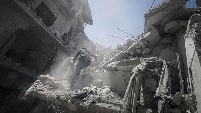İdlib'de Esed Rejimi ve Rusya'nın yoğun hava saldırılarında 9 sivil yaşamını yitirdi
