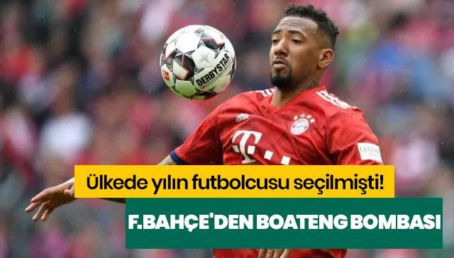 Ülkede yılın futbolcusu seçilmişti! F.Bahçe'den Boateng bombası