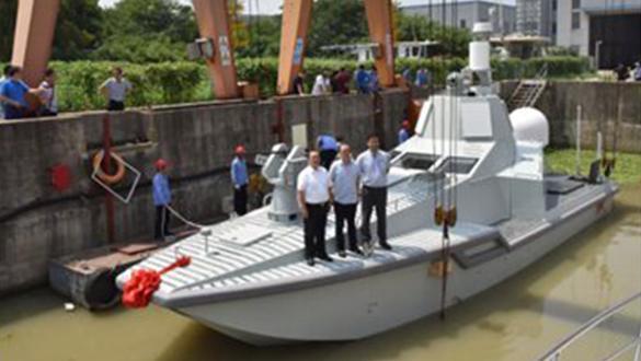 Çin insansız yapay zekalı JARI isimli savaş gemisini tanıttı