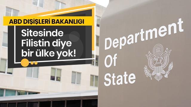 ABD Dışişleri Bakanlığı sitesinde bakın hangi ülkeyi çıkarmış!