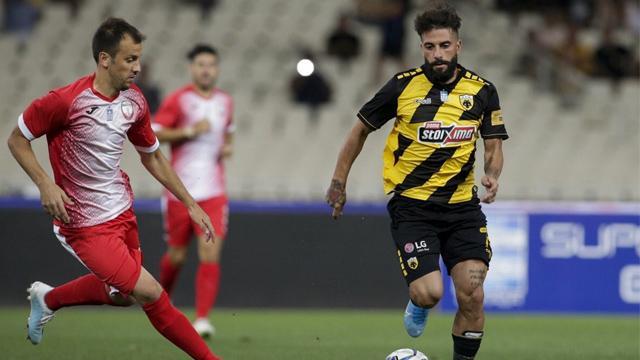 AEK, lige mağlubiyetle başladı